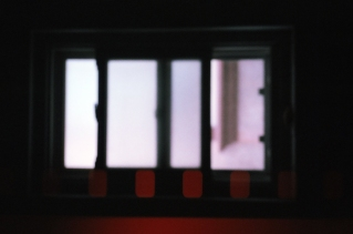 Blurred window